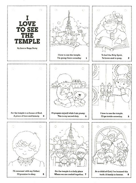 Printables for Lesson #35 - Primary 3 | Church | Pinterest ...