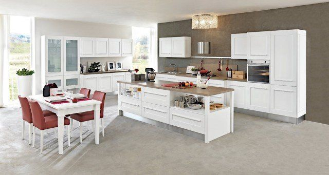 Cucina: la voglio tutta bianca | Home Sweet Home | Kitchen ...