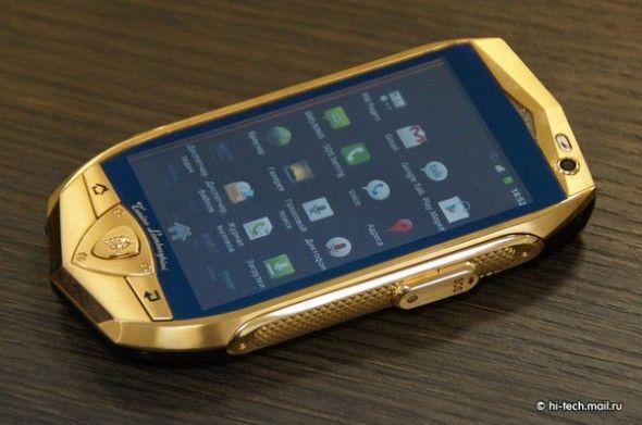 das luxus smartphone von lamborghini luft mit android 2 3 alais gingerbread foto hi techmailru e1339405414819jpg 590391 pinterest - Luxus