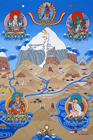 Tibetan creation myth
