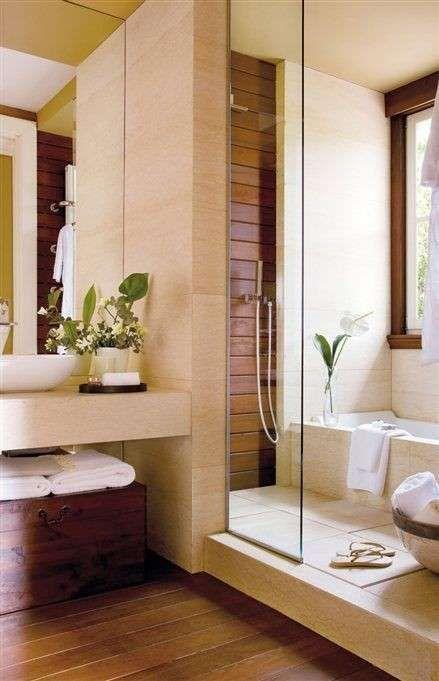 Arredare il bagno in stile orientale bagni bathrooms for Finestra termale