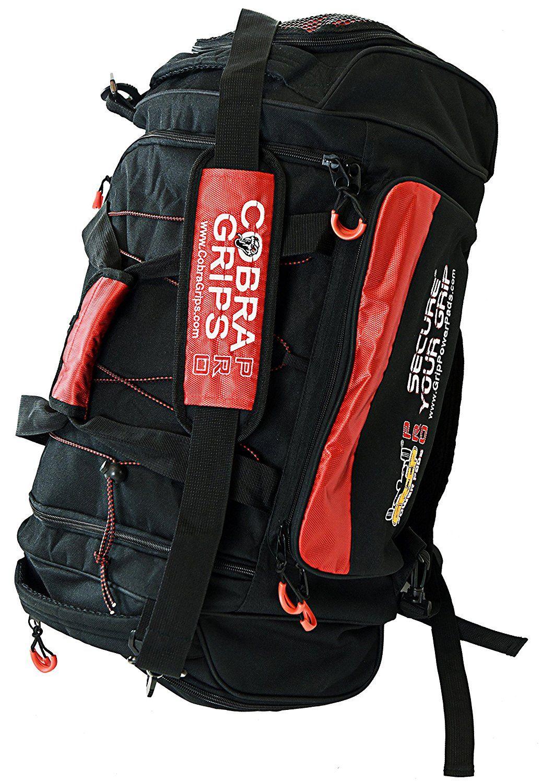 Sport Large Best Gym Duffle Bag Wet Dry Storage Cobra Grips Grip Power Pads Visit