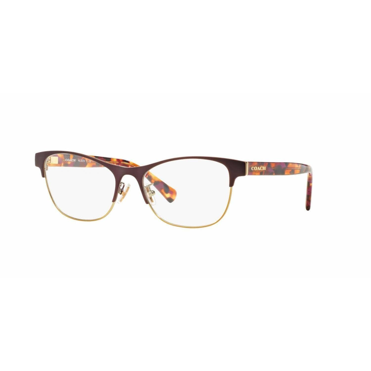 Coach Womens HC5074 9241 Violet Square Eyeglasses | Products ...