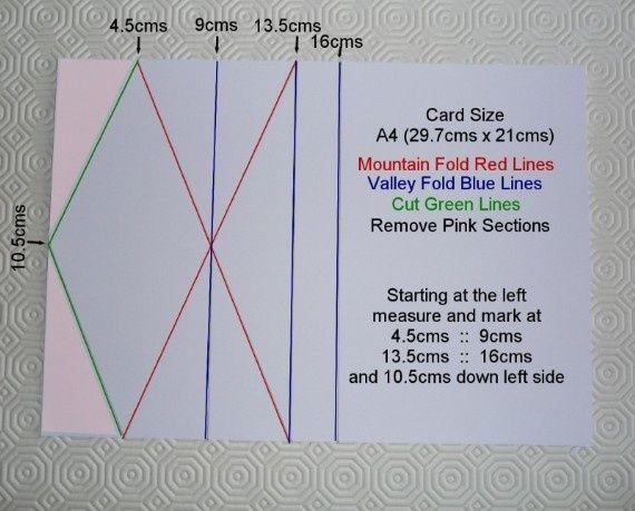 Rubica Magazine Easel Cards Fun Fold Cards Folded Cards