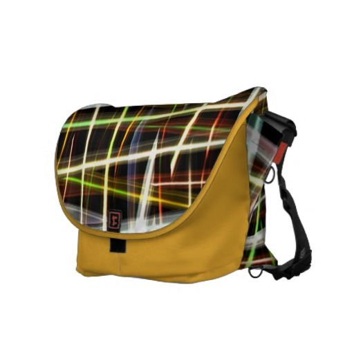 "Crazy Yellow Plaid  messenger bag by Valxart.com messenger bag by Valxart.com $141.70 Water resistant, extra durable (machine-washable). Large main compartment and 2 front pockets. Form fitted to your body. Quick-adjust cam shoulder strap. Holds a 15"" laptop (w/optional sleeve). Made with a sustainability focus in San Francisco, CA. Dimensions 12"" H x 21"" W x 9"" D."
