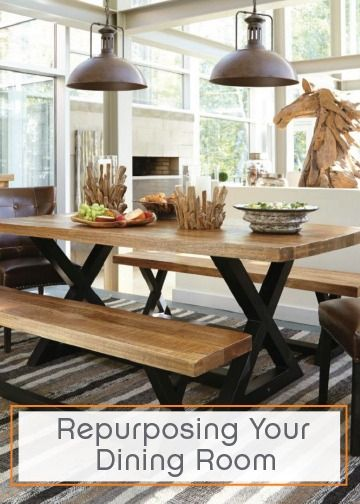 5 Ways To Repurpose Your Dining Room Recreational Room Dining Formal Dining