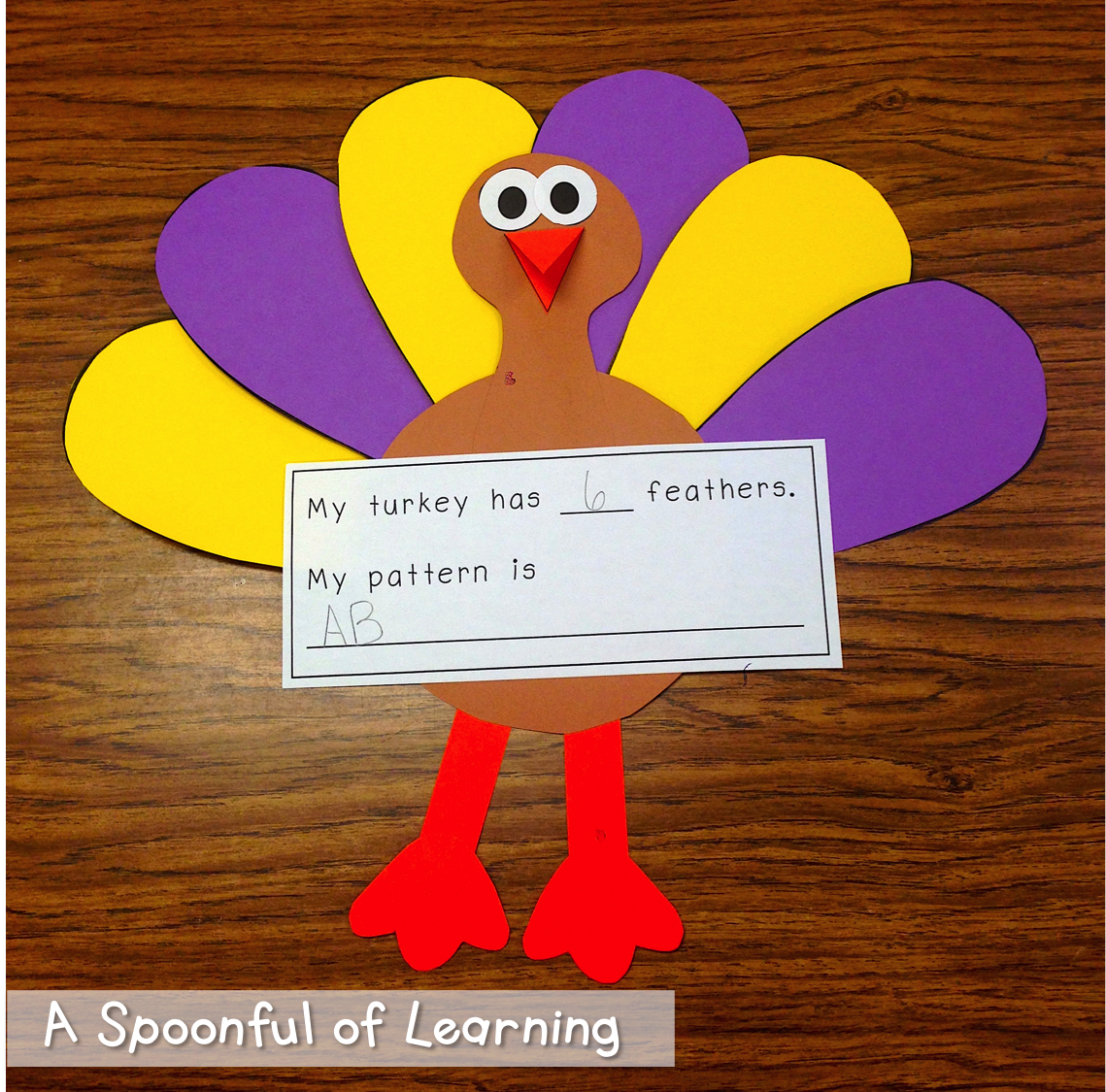 Turkey Unit Math Literacy And Writing Activities
