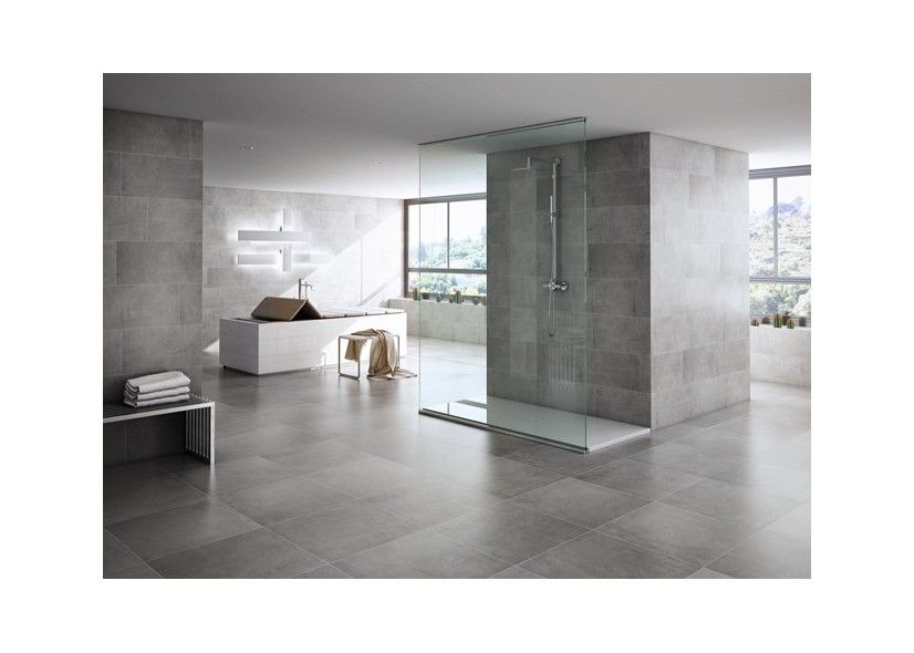 Beton Gietvloer Badkamer : Keramische tegel modern strak badkamer moderne badkamer