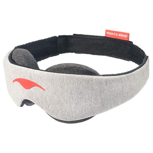 Amazon Com Manta Sleep Mask 100 Blackout Eye Mask Zero Eye Pressure Adjustable Eye Cups Guaranteed Deepest Possible Best Sleep Mask Sleep Mask Manta