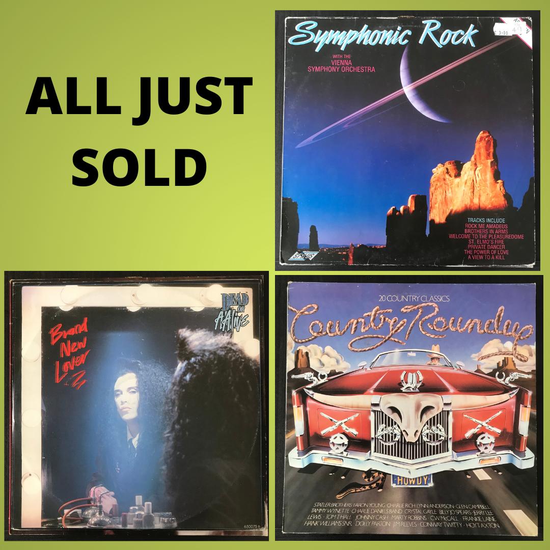 All Just Sold in 2020 Vinyl records, Vinyl, Vinyl collectors