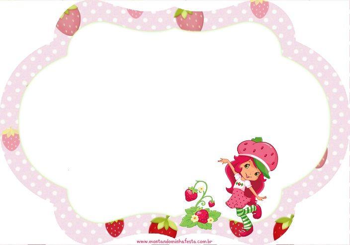 Imágenes De Frutillitas Para Etiquetas Candy Bar Stickers