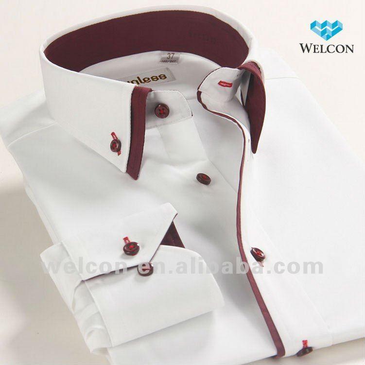 Italian Dress Shirts For Men Fashion Business Dress White Men S