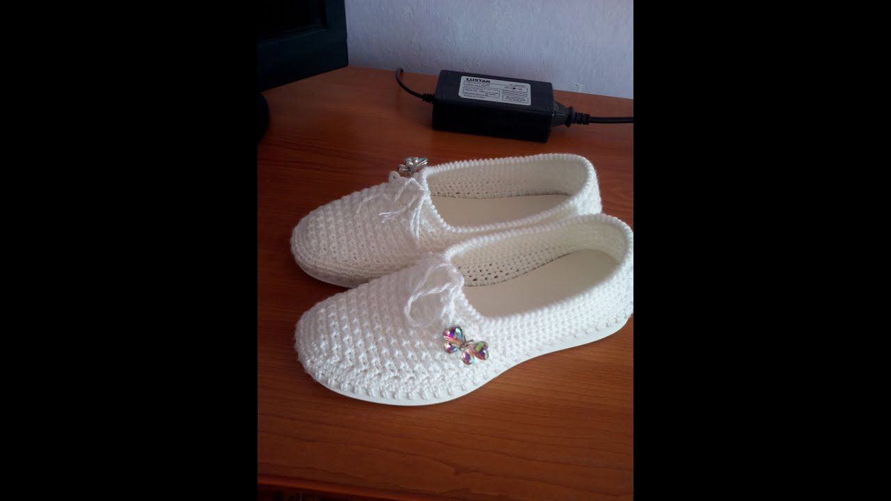 c4fab9819 Espadrile crosetate -Delia - YouTube | Foot wear | Crochet shoes ...