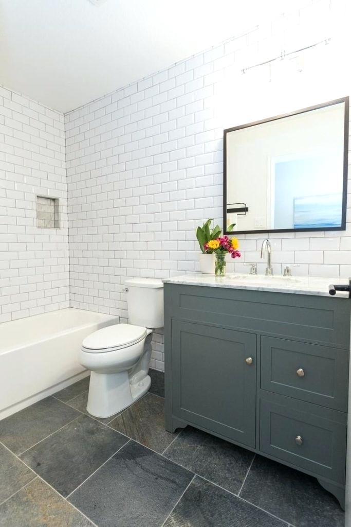 Fully Tiled Bathroom Walls Bathroom Design Fully Tiled Grey Slate Bathroom Modern East Modern Farmhou Slate Bathroom Floor Slate Bathroom Tile Farmhouse Shower