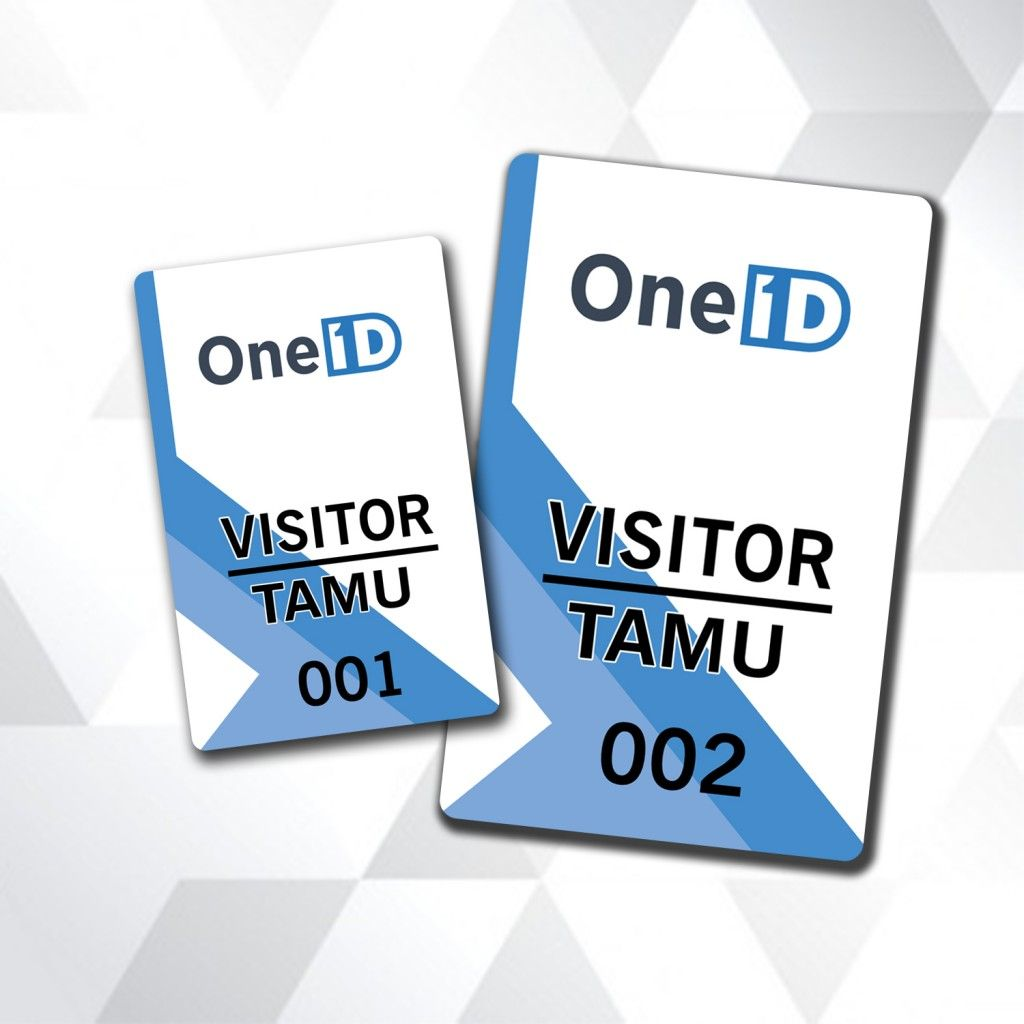 buat kartu pengunjung visitor card kartu id card pinterest