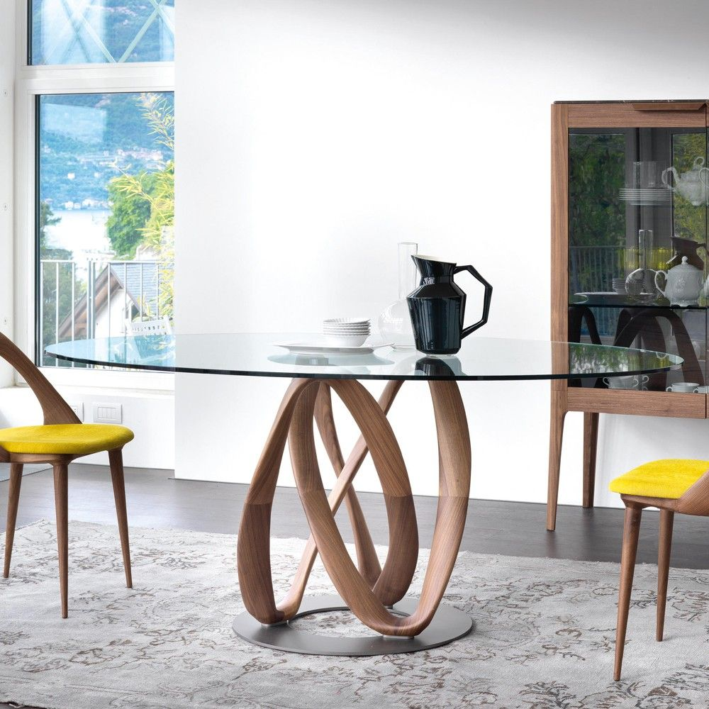 Pin By Panit Snis On Furniture Interior Pattersn Glass Round Dining Table Oval Table Dining Oval Glass Dining Table