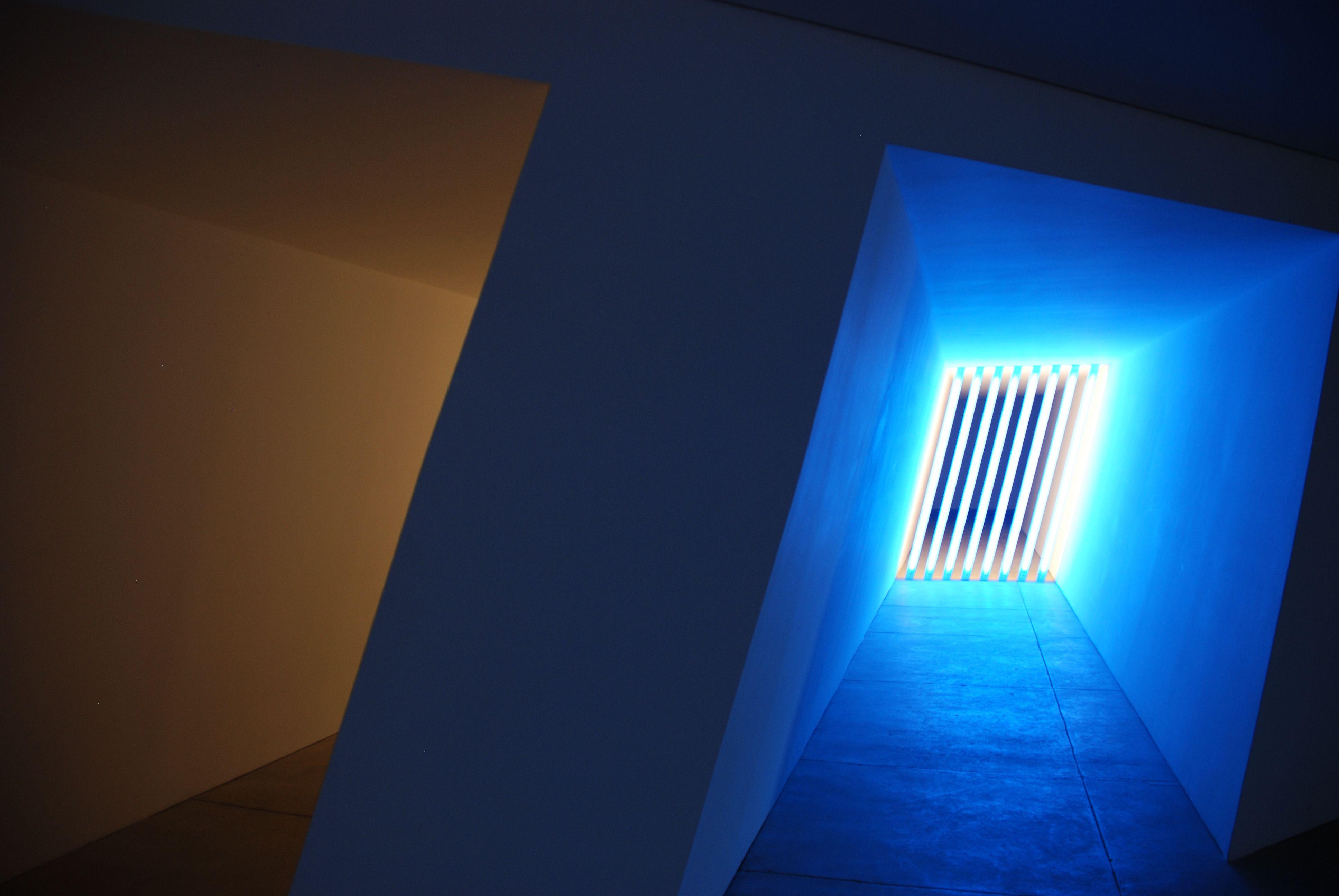 Part of the Dan Flavin Installation at the Chinati Foundation - Marfa.