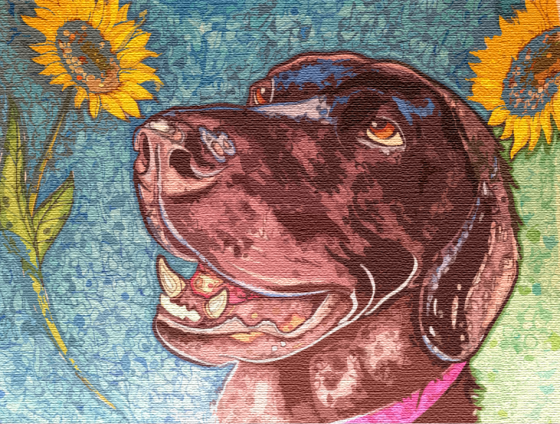 Black Lab Dog Art Fine Art By Chris Scott At Hi Five Design In Colorado Springs Fine Art Dog Art Creative Graphic Design
