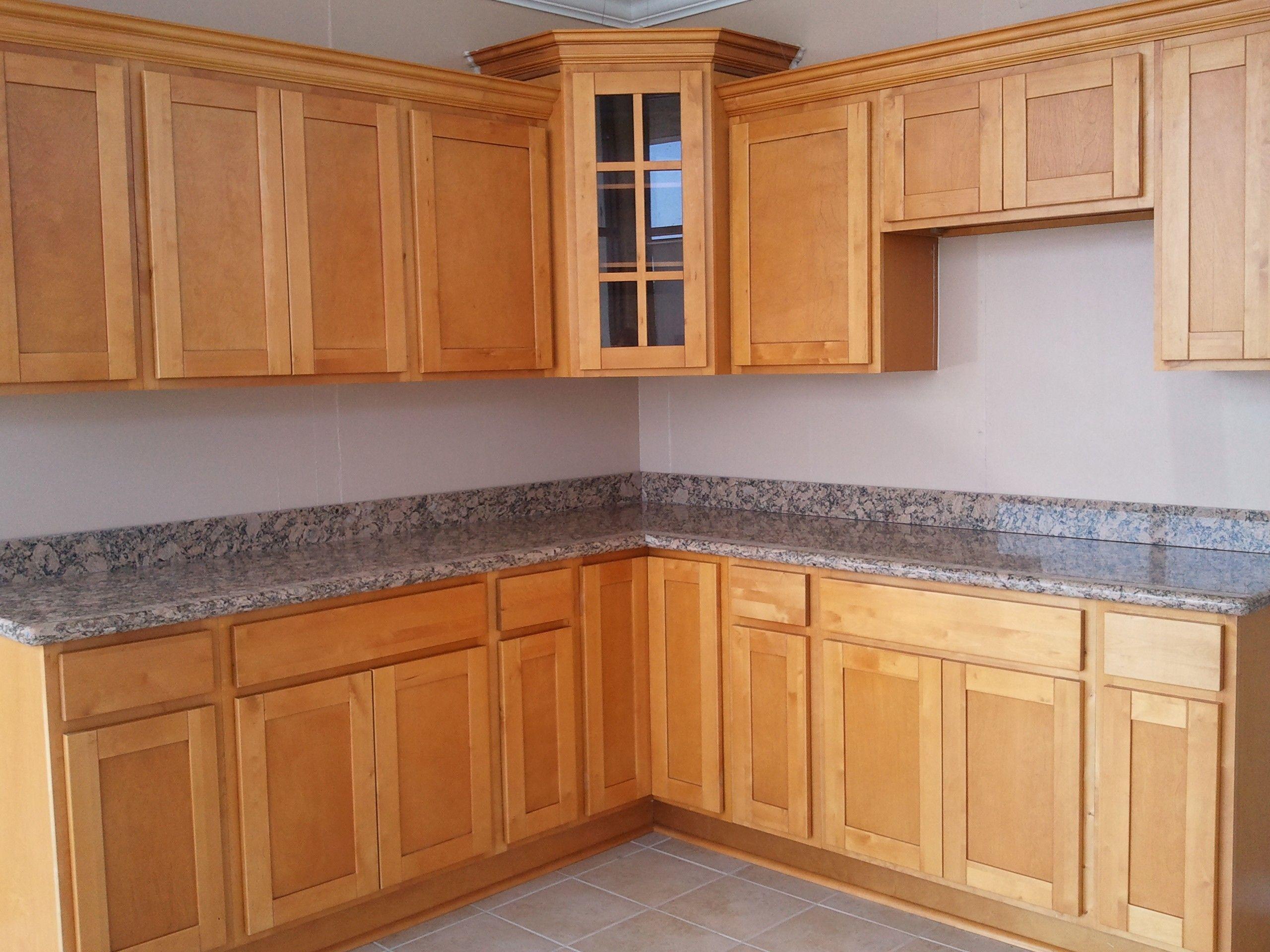 Birch Kitchen Cabinets Reviews Shaker Wooden Wood