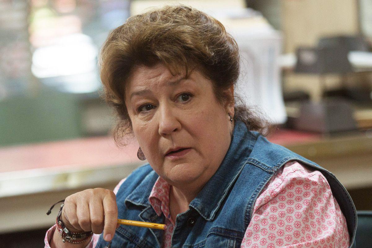Veteran actress Margo Martindale is enjoying life in the