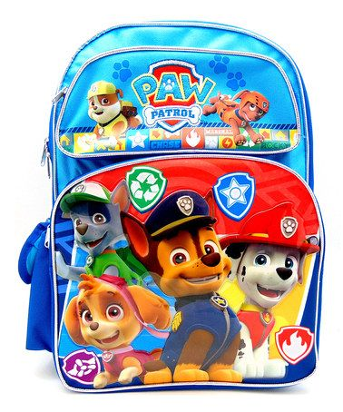 Another Great Find On Zulily Paw Patrol Backpack By Paw