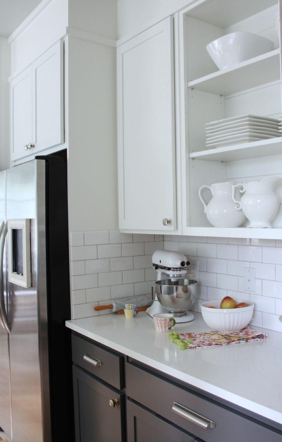 Home Decor Trends 2016 The Mismatched Kitchen Kitchen Cabinet Colors Grey Kitchen Designs Kitchen Design