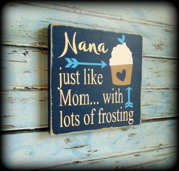 Gift For Her Birthday Present Mom Sign Rustic Home DecorGifts