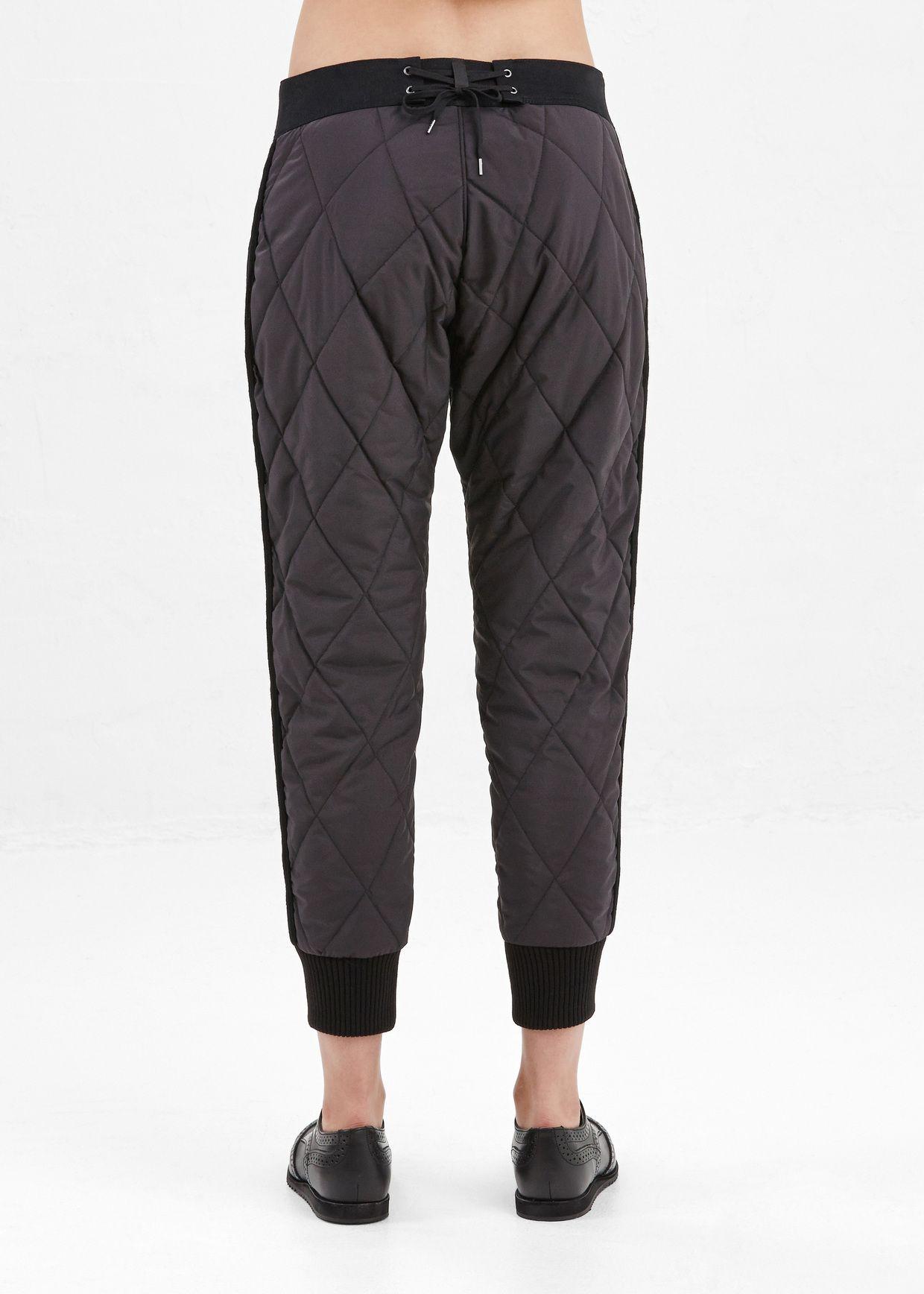 508f78b18e600 Totokaelo - Y s by Yohji Yamamoto Black Quilted Jogger Pants ...
