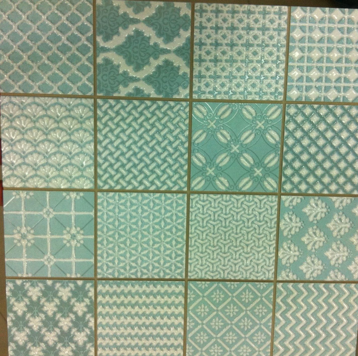 Patchwork Kitchen Wall Tiles: Love This Tile As A Kitchen Splashback