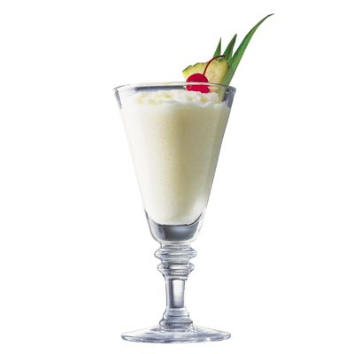 Grab a blender and you're just minutes away from enjoying this tropical frozen beverage made with spiced rum. Recipe: Piña Colada   - Delish.com