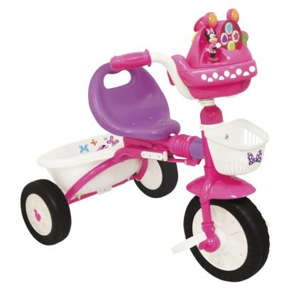 729b5edbd9b KiddieLand Girl's Minnie Mouse Foldable Trike - ... : Target   for ...