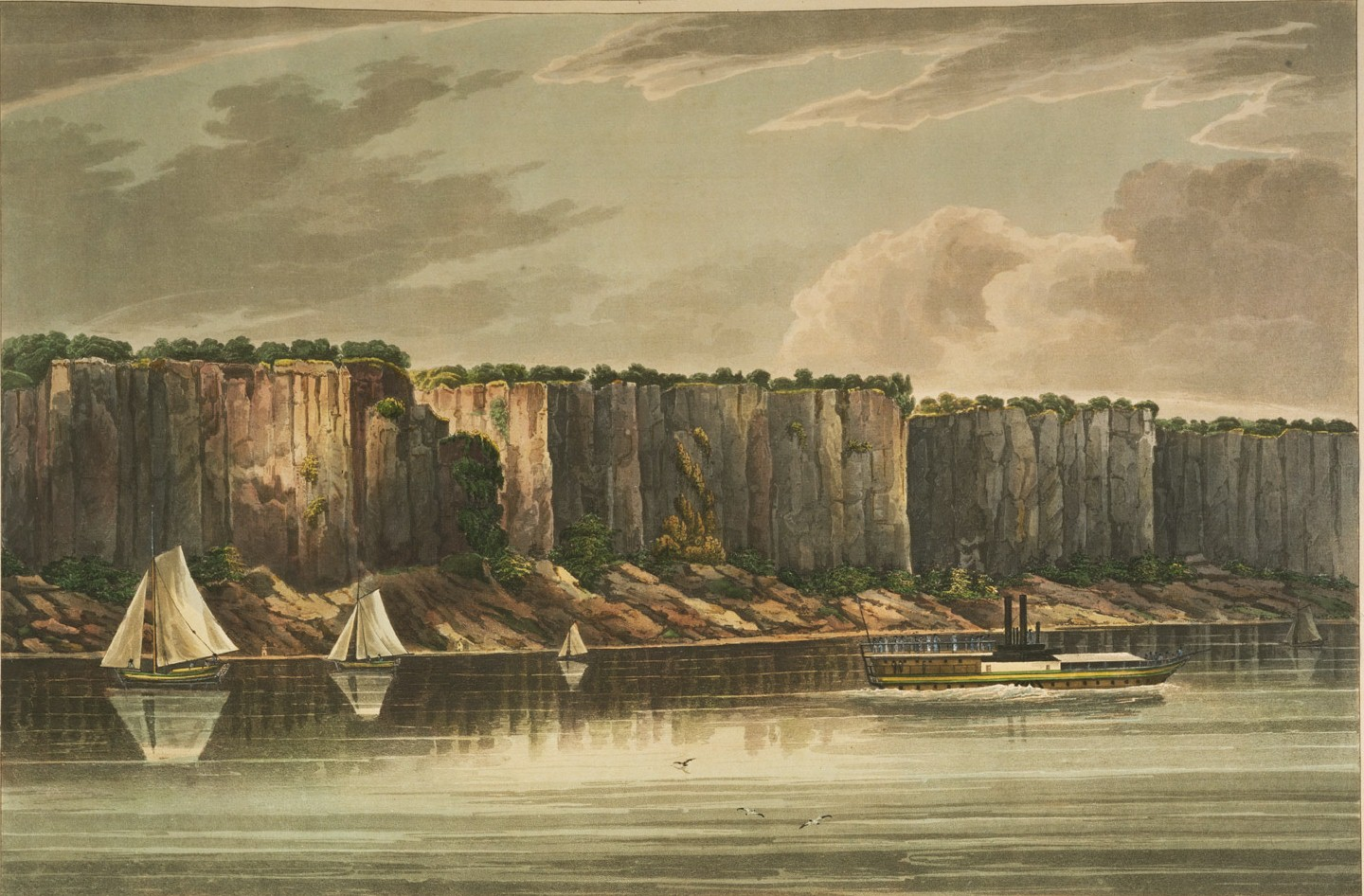 William Guy Wall Palisades .19 Of Hudson River