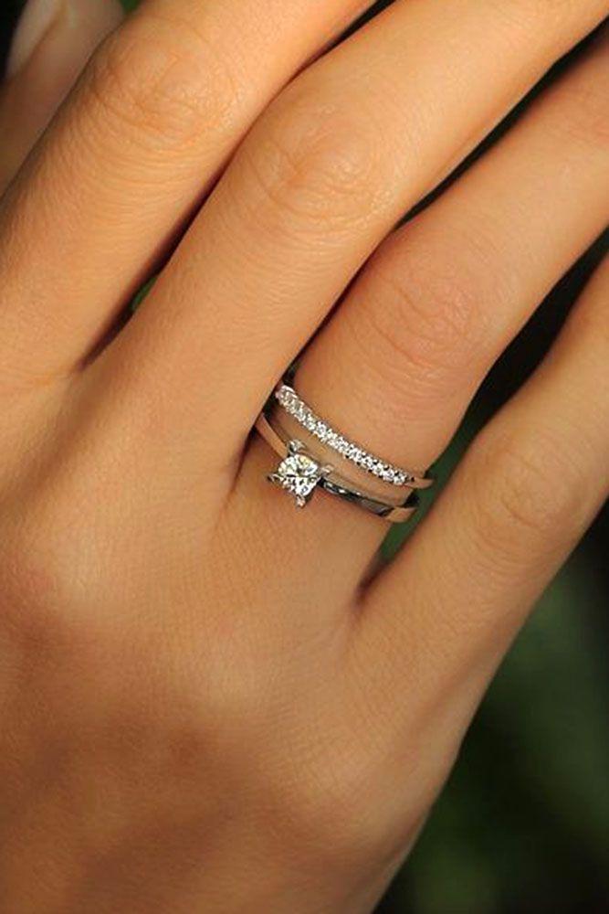 10 Fresh Engagement Ring Trends For 2018 #weddingrings