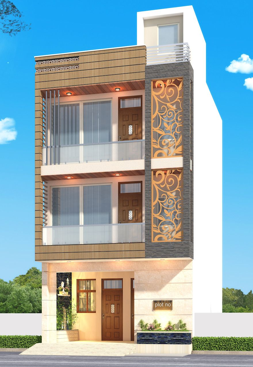 The Amazing House Front Design Indian Style