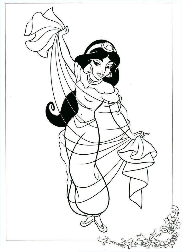Dibujos Para Colorear Disney Aladdin Pinterest