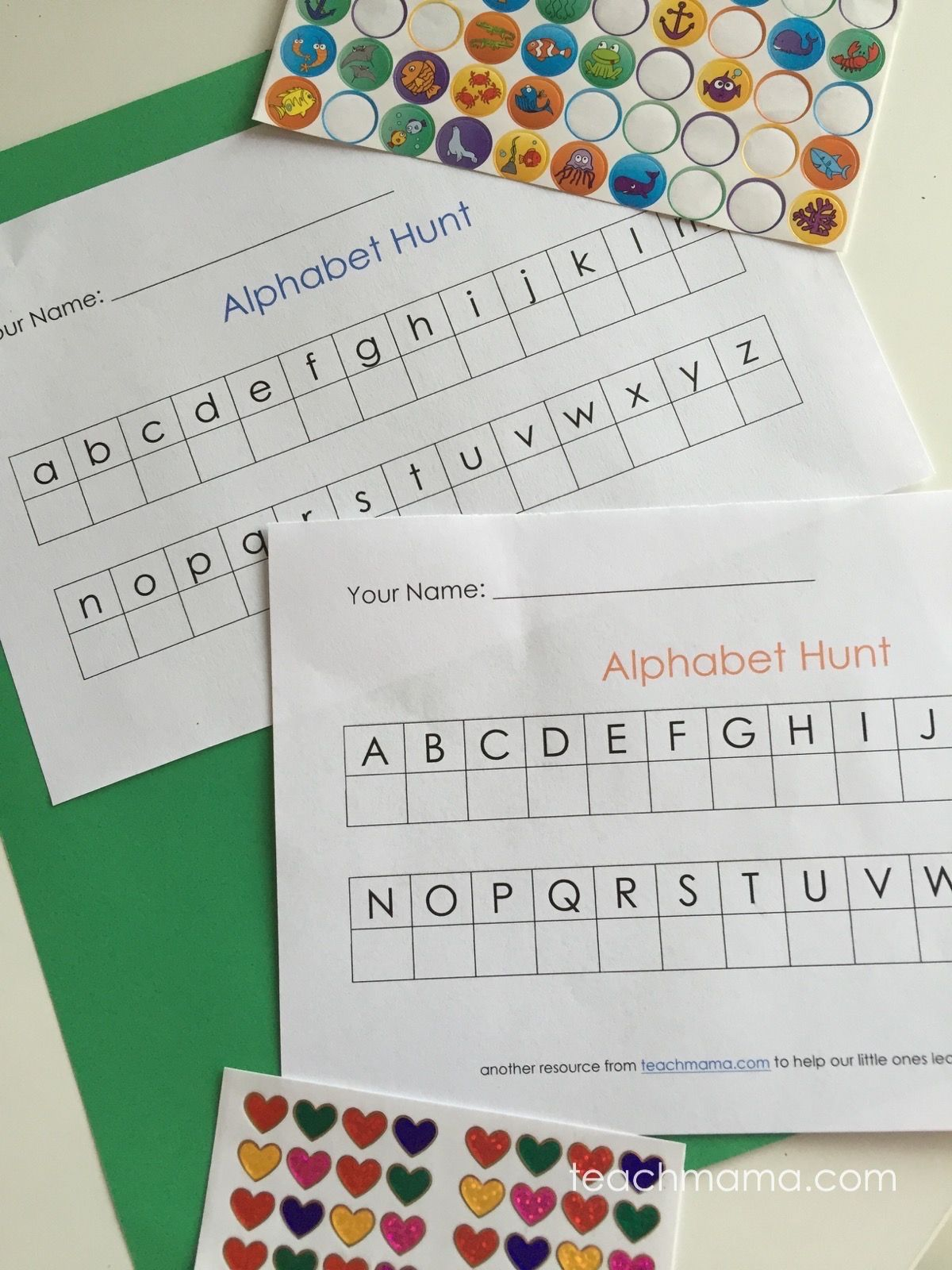 Alphabet Hunt On The Road Abc Fun