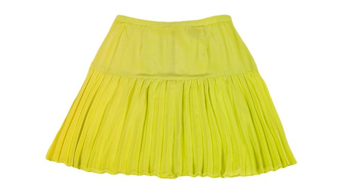 Wren neon pleated skirt / Time Out  Looks inspired by pop music story