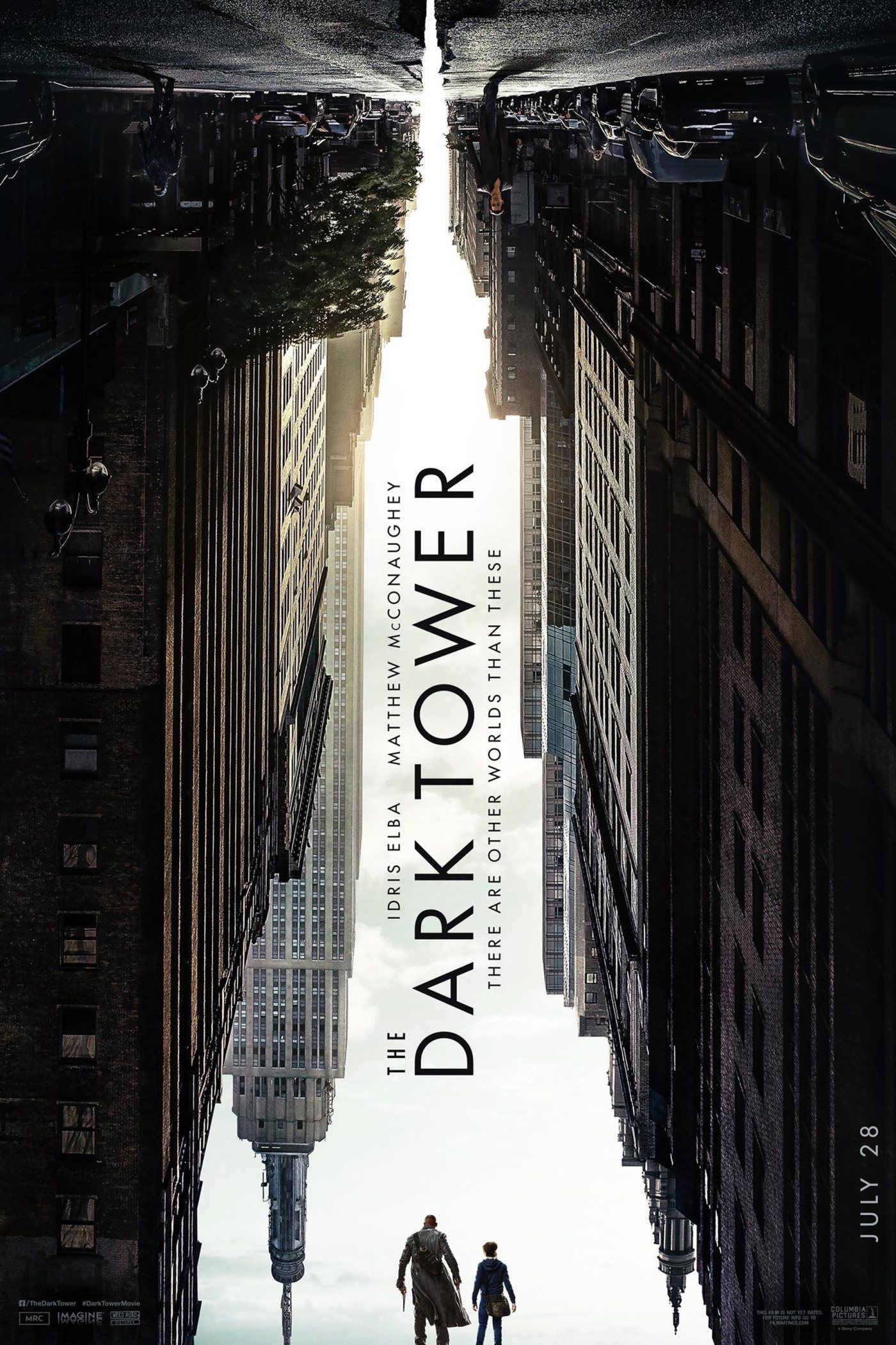 The Dark Tower by Stephen King. An amazing poster concept that would make for a brilliant book cover.