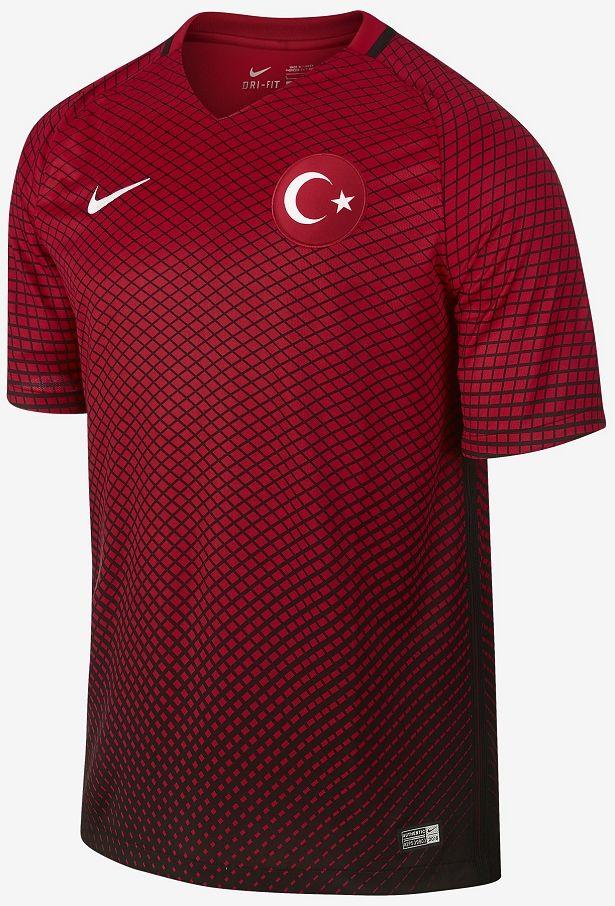 01317c9f7365b Camisas da UEFA Euro 2016 - Grupo D - Show de Camisas
