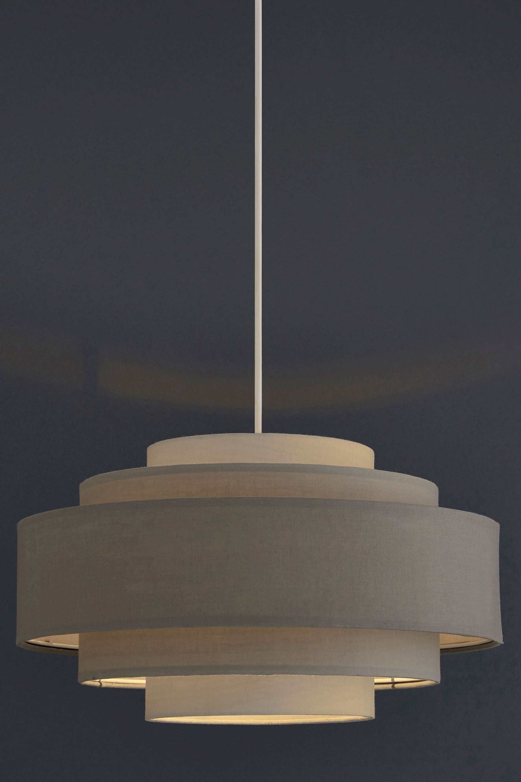 Buy Grey Easy Fit 5 Tier Shade from the Next UK online shop · Hallway LightingJungle ... & Buy Grey Easy Fit 5 Tier Shade from the Next UK online shop ... azcodes.com