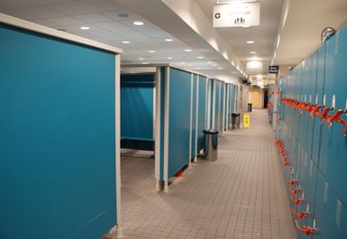 Aquatic centre changing rooms google search changing - Swimming pool highbury and islington ...