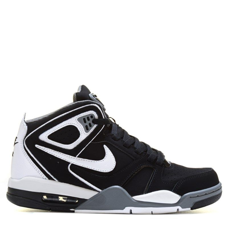 Nike Men's Air Flight Falcon Sneakers (Black/Cool Grey/Whit)