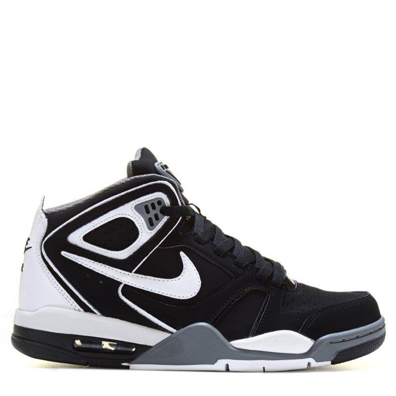 Nike Men's Air Flight Falcon Sneakers (Black/Cool Grey/Whit)