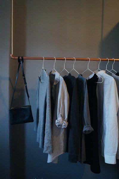 Diynstag 7 Hübsche Einrichtungsideen Für Kleiderstangen