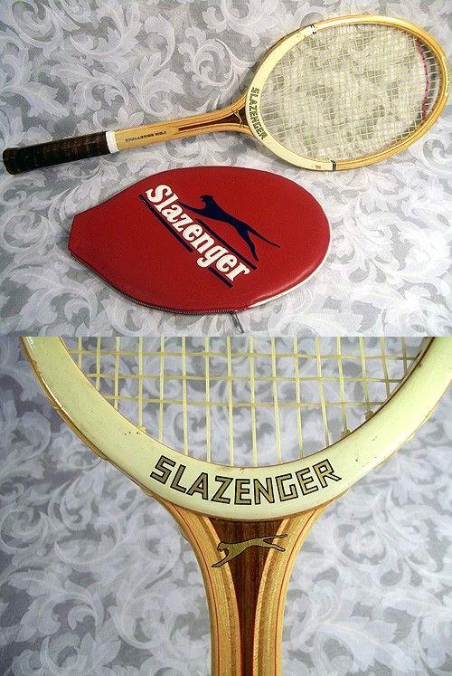 63ffba95bb Sold Vtg 1975 SLAZENGER CHALLENGE NO.1 Tennis Racket w/ Red Cover made in  England