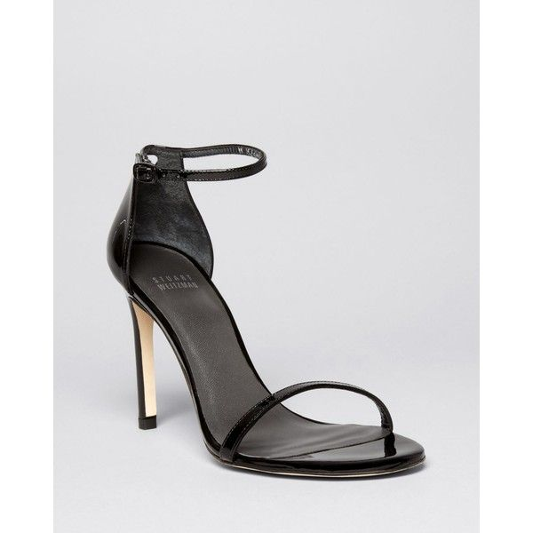 5f1f802f495 Stuart Weitzman Ankle Strap Sandals - Nudistsong High Heel Patent ( 398) ❤  liked on
