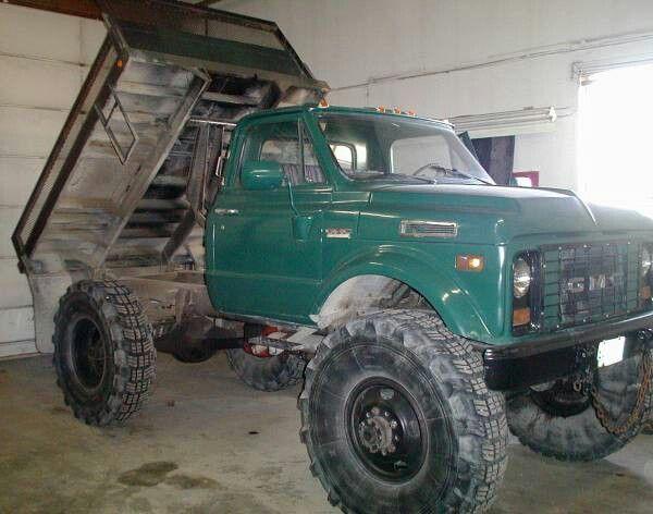 Gmc C60 Napco 4x4 Conversion Dump Bed Chevy Trucks