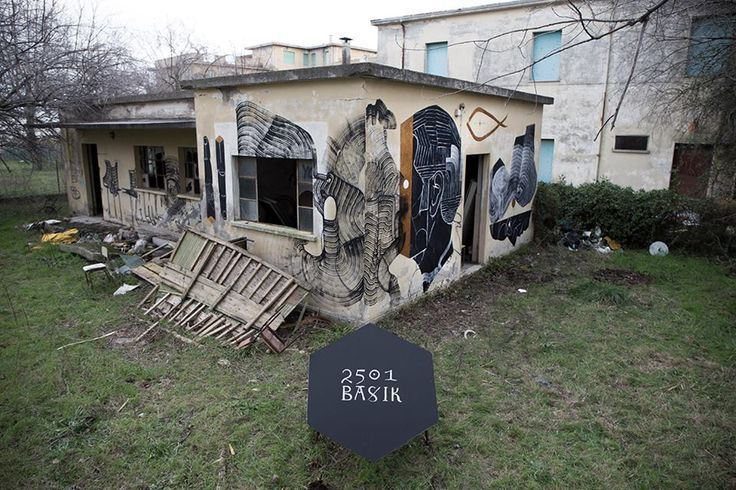 Basik + Never 2501 - Italian Street Artist - Italy - 12/2014