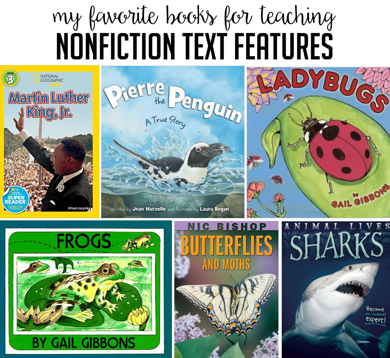 Books To Teach Nonfiction Text Features