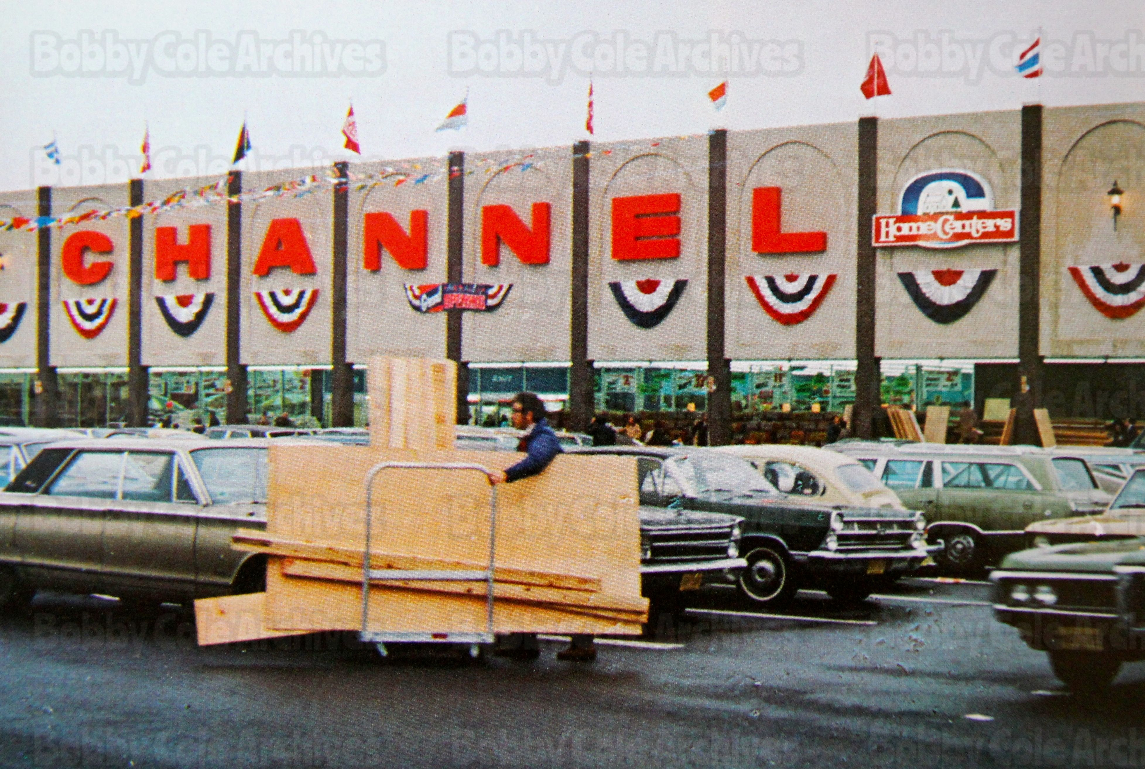 Grand Opening Channel Lumber In Middletown Nj Early 70 S